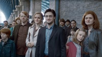 Harry Potter se casa con Ginny Weasley
