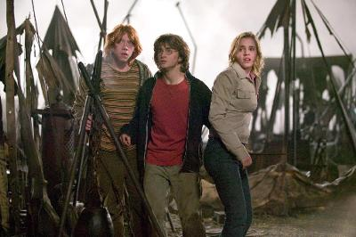 Ron,Harry y Hermione Granger